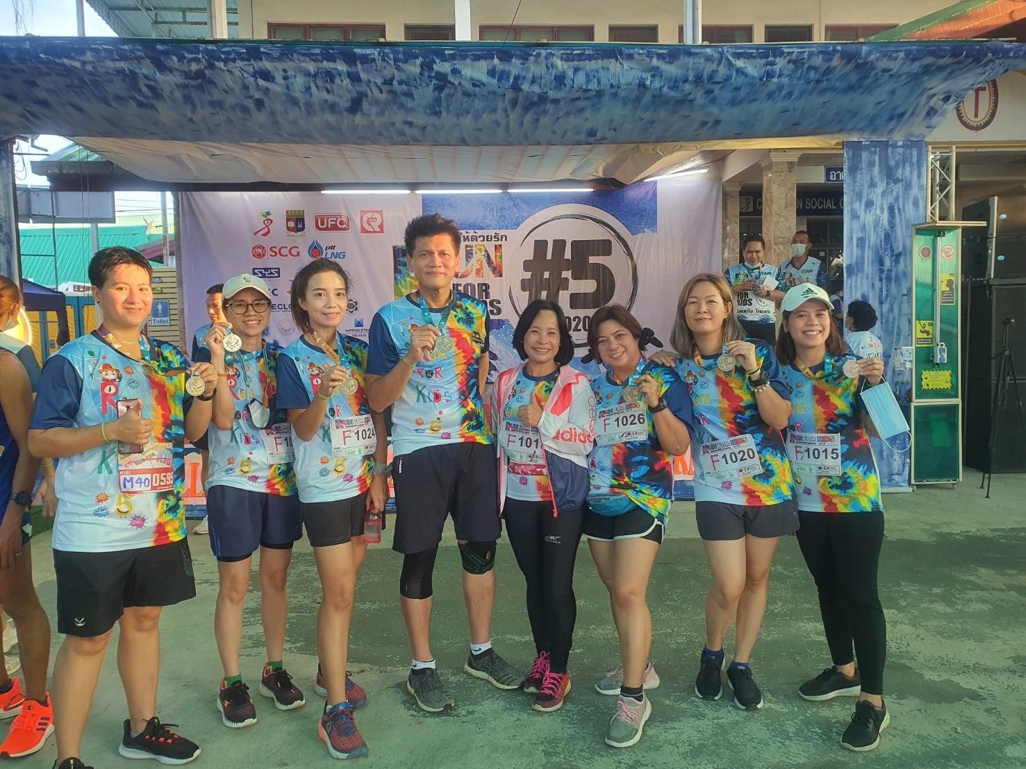 ร่วมกิจกรรมวิ่งการกุศล Run For Kids #5 วิ่งด้วยใจให้ด้วยรัก  ครั้งที่ 5